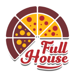 logo fullhouse pizza